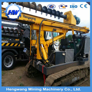 Screw Type Photovoltaic (PV) Pile Driver Price pictures & photos