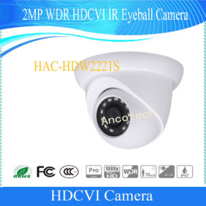 Dahua WDR Hdcvi IR Eyeball 2MP Security Waterproof Camera (HAC-HDW2221S) pictures & photos