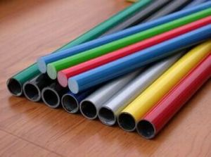 China Pultruded High Strength FRP Tube/Pipe, Fiber Glass Pole/Tube pictures & photos