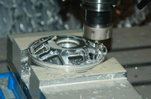 High Precision Aluminium Wheel Prototype Machining