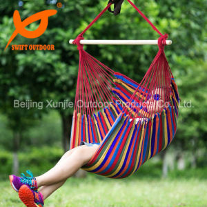 China Swift Outdoor Hanging Rope Hammock Chair Swing Seat For Any