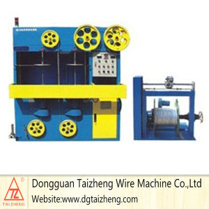 Flexible Wire Wrap Stretch Tape Packing Machine pictures & photos