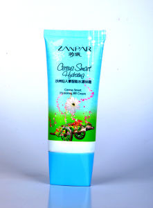 Cosmetic Packaging Plastic Oval Tube with Lid pictures & photos