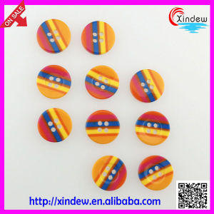 Custom Men Resin Shirt Button pictures & photos