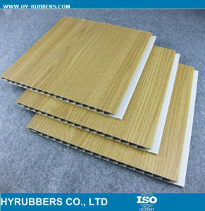 Wooden Color Design Laminated PVC Wall Ceiling pictures & photos