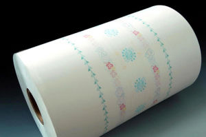 Sanitary Napkin Raw Material Printed PE Film Supplier China pictures & photos