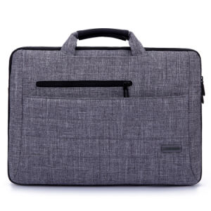 Gray Laptop Bag with Single Shoulder Strap (SM5248-14) pictures & photos