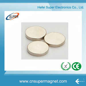Industrial Neodymium Rare Earth N45 Disc Magnet pictures & photos