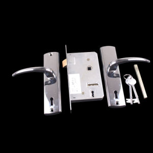 9552 Aluminium Handle Iron Key Door Handle Lock