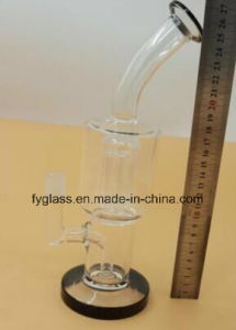 Glass Water Pipe with 10inch, 4tree Arm Perc pictures & photos