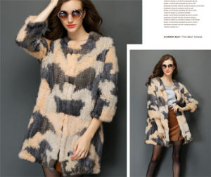 2015 Women Spring and Autumn Kintted Mink Fur Sweater