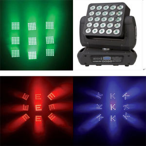 25*10W LED Magic Matrix Moving Head Beam Panel Lighting pictures & photos