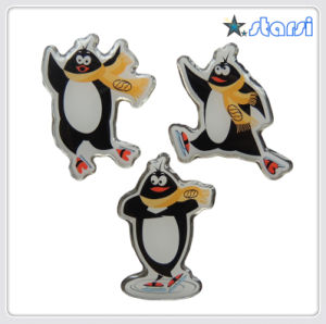 Promotional Cheap Metal Epoxy Badge (ST-B02)