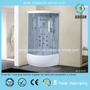 Sliding Door Grey Glass Massage Steam Complete Shower Cabin (BLS-9707) pictures & photos