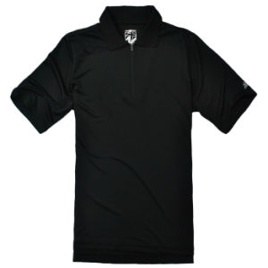 Pure Black Cool Dry Polo Tee Shirt pictures & photos