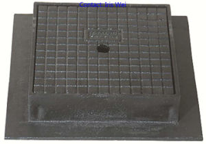 Sand Casting Manhole Cover (BC. D-A17)