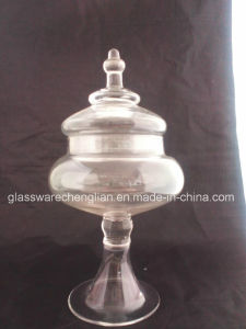 Very Clear Glass Candy Jars (J-07) pictures & photos