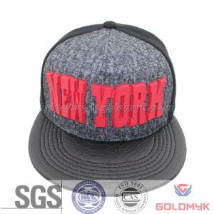 Hot Custom Rubber Patch Logo Snapback Hats Wholesale (GKL-039)