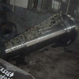 Heavy Forged Steel Cylinder Flange Shaft pictures & photos