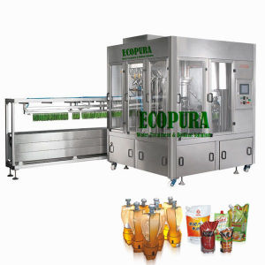 Automatic Stand up Pouch Filling Capping Machine pictures & photos