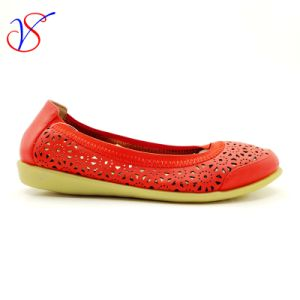 Three Color Soft Comfortable Flax Lady Women Shoes Sv-FT 004