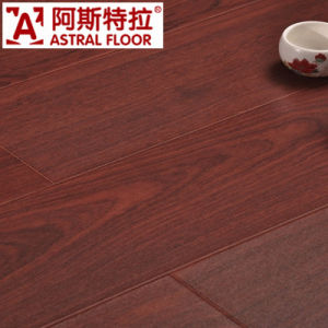 12mm HDF Silk Surface (No-Groove) Laminate Flooring (AS8117) pictures & photos