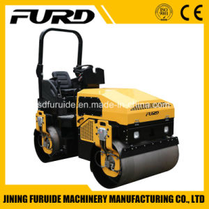 3t Double Drum Soil Compactor Road Roller pictures & photos