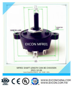 Rotary Switch Excon Mfr01 China Factory with Competitive Price
