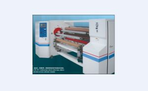 Double Shafts Auto Interchange Rewinding Machine, BOPP Tape Rewinder, Double-Sided Tape Rewinder pictures & photos
