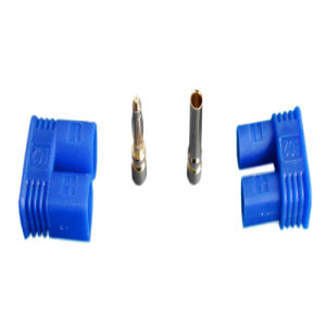 2.0mm Gold Plated Connector with Blue EC 2 Plastic Housing