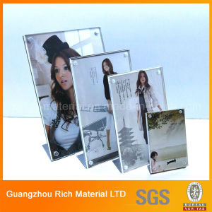 Acrylic Poster/Decription Card Display/Acrylic Plastic Holder pictures & photos
