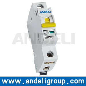 Single Phase MCB C10 Circuit Breaker / MCB (DZ50-63) pictures & photos