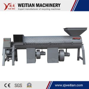 Efficiency Label Separator Pet Bottle Label Remover Machine pictures & photos