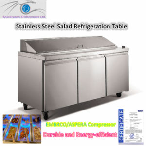 Stainless Steel Salad Preparation Cabinet pictures & photos