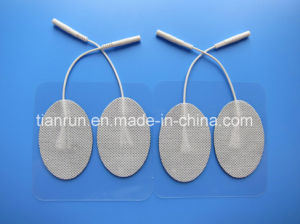 Tens Electrode, Oval Shape, 40*60mm