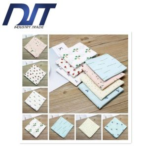 Custom Logo Colorful Lady′s Cotton Handkerchief with High Quality