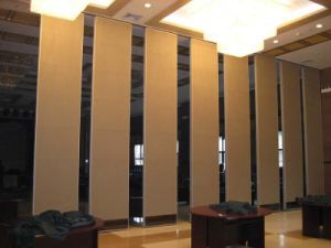 China Sound Proof Wooden Movable Partition Walls For Restaurant   China  Moveable Partition, Moveble Wall