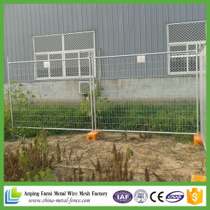 2.1*2.4m Removable Hot-Dipped Galvanized Temporary Fence