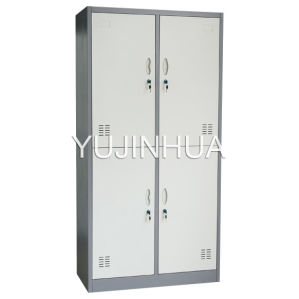 4 Door Steel Locker Metal Cabinet