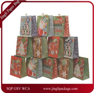 Christmas Gift Bags Images.Glitter Accents Christmas Gift Bags Paper Gift Bag Paper Bag Gift Bag Kraft Paper Bag