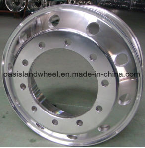 Commercial Vehicle Forged Aluminum Wheels (17.5X6.75) pictures & photos