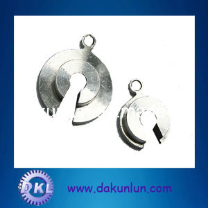 Custom Aluminum Washer with Key Ring