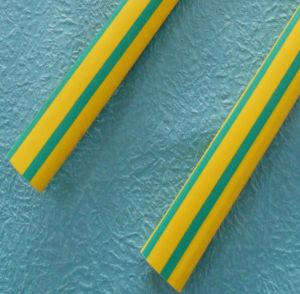 Green Yellow Heat Shrink Tubing pictures & photos