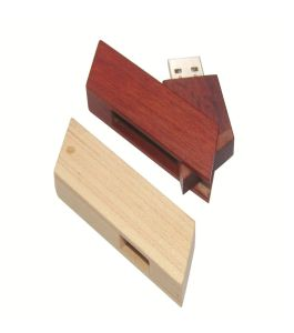 Bamboo/Wooden USB Flash Drive Custom Logo pictures & photos