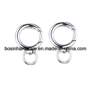 Metal Spring Gate Snap Ring with Swivel Eye