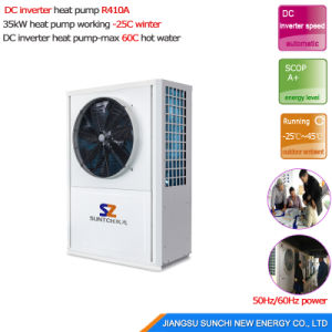 -25c Extramely Cold Area Heating Room 10kw/15kw/20kw/25kw R407c Evi Brine Water Source Heat Pump Package pictures & photos