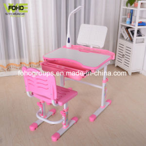 China Kids Plastic Table And Chair Set Adjustable Ergonomic Reading