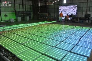 Economic 60X60cm Digital Dancing LED Floor for Party Wedding Stage pictures & photos
