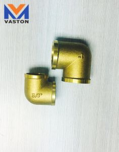Brass Elbow Tee Pipe Fitting pictures & photos