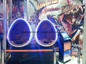 Virtual Reality 9d Egg Vr Cinema Motion Chair 360 Vision 2 Seats in Ausement Park pictures & photos